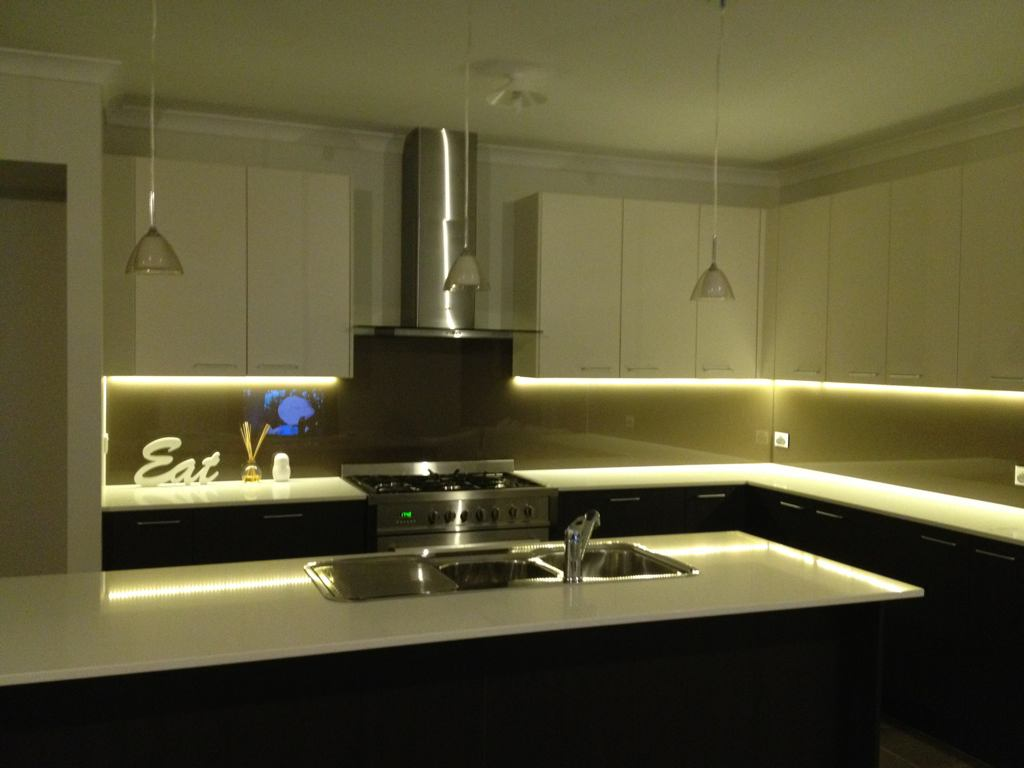 Led Tape Lights Kitchen