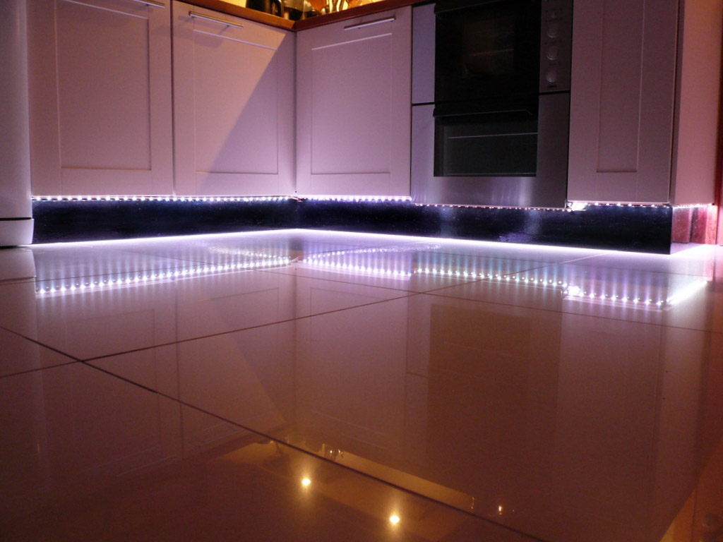 Plinth Led Lights Kitchen